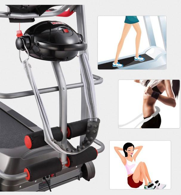 Indoor Life Fitness Motorized Home Treadmill Commercial Grade For Bodybuilding.
