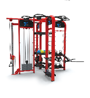 Circuit Functional Training Equipment , 360 Exercise Machine For Fitness Club