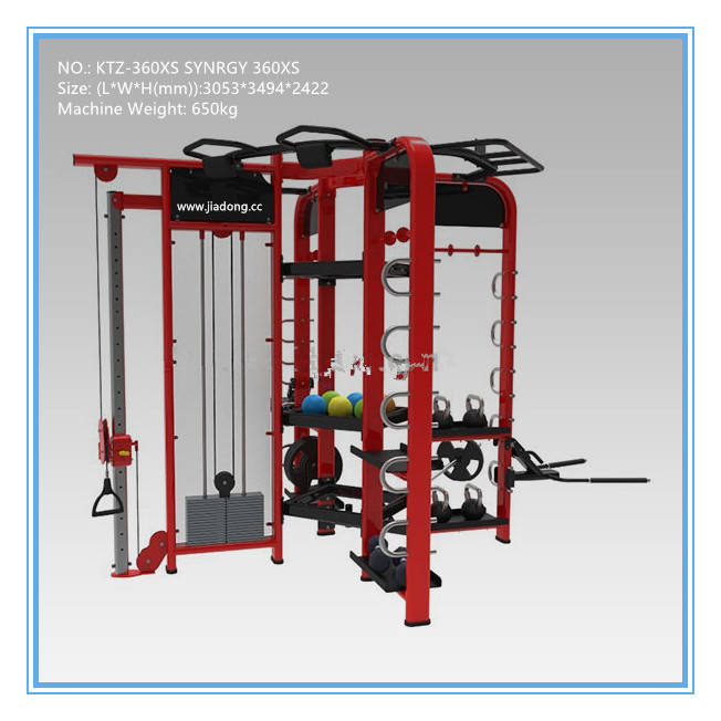 Commercial Multi Station Gym Equipment , Cross Trainer 360 Workout Machine