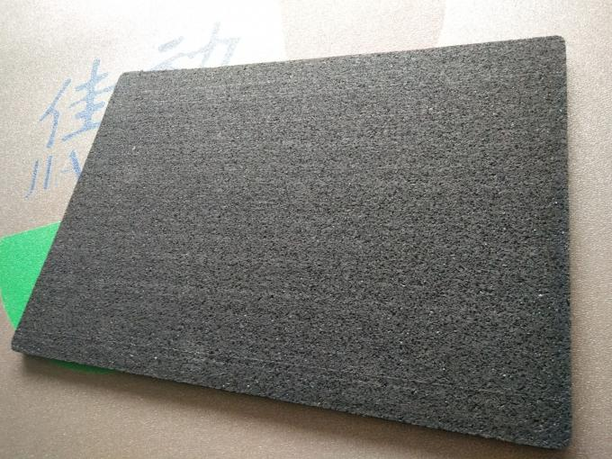 Commercial Acoustic Floor Underlay Rubber Cork Granules Bond With PUR Binder