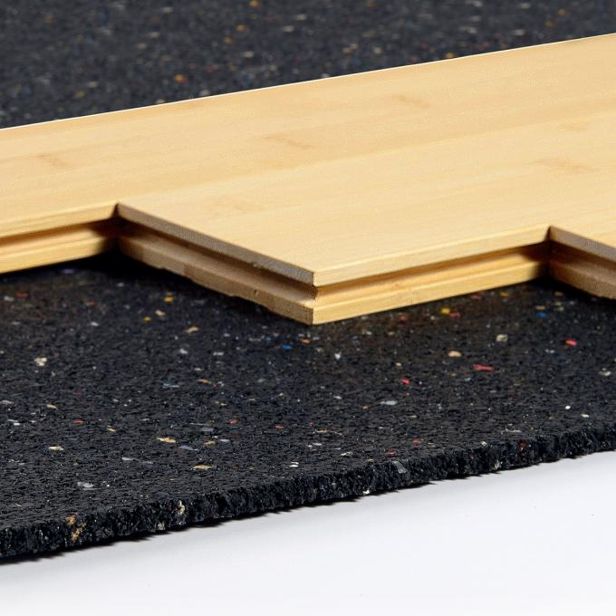 5mm 8mm Rubber Acoustic Floor Underlay Soft Recycled Epdm Sponge Carpet Underlay