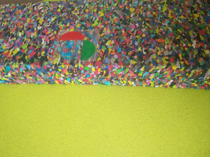 Eco Friendly Foam Rubber Mat Soundproof Flooring Underlayment Recycled