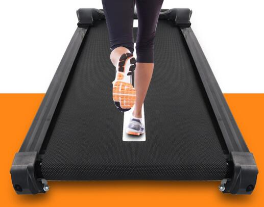 Multifunction Fold Up Treadmill , 2.75HP Space Saver Treadmill 0.8-18km/H Speed