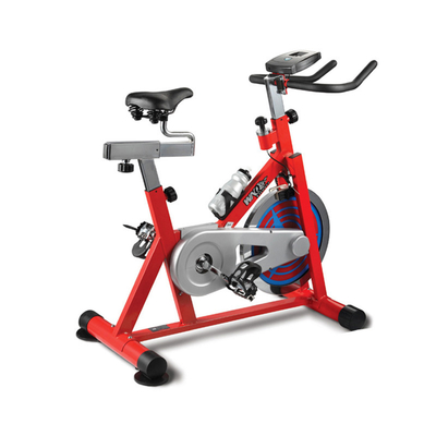 China Anti Skid Peda Stationary Workout Bike , Strong Frame Seated Bike Machine supplier