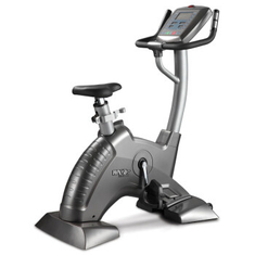 China Ellipse Steel Tube Stationary Exercise Bicycle Workout Machine For Lose Weight supplier