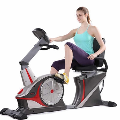 China Lightweight Sitting Gym Bike Equipment Recumbent Exercise Bicycle For Athlete supplier