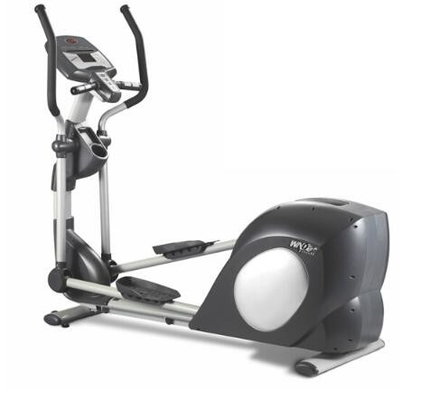 China 8 Solt Belt Stationary Cycling Bike Exercise Machine , Fitness Exercise Bike Black supplier