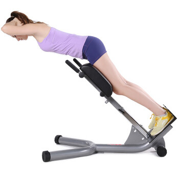 China Muscle / Abdominal Exercise Equipment , Sit Up And Back Extension Bench supplier