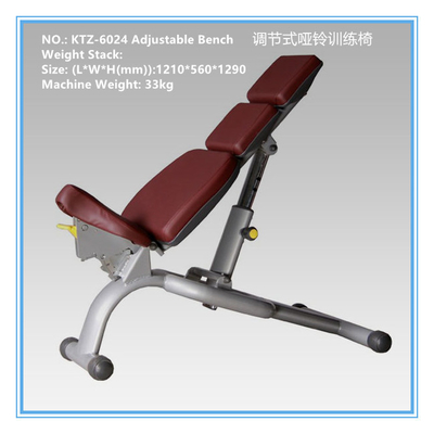 China Most Efficient Aerobic Exercise Equipment Adjustable Dumbbell Bench 1210x560x1290mm supplier