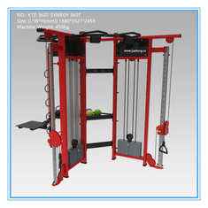 China dual adjustable pully fitness multi equipment 360 Strength Fitness Equipment , multi function gym machine supplier