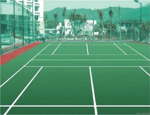 China Outdoor Basketball Court Surfaces , Waterproof Tennis Court Paint Colors supplier