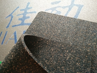 China Commercial Acoustic Floor Underlay Rubber Cork Granules Bond With PUR Binder supplier