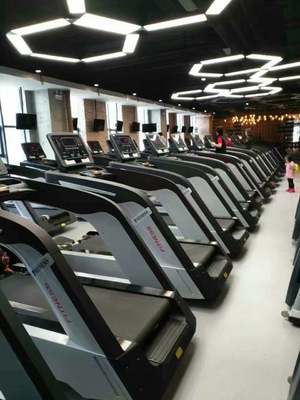 China Solid Steel Gym Quality Treadmill For Home , High End Sports And Fitness Equipment distributor