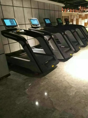 China Fitness Center Commercial Grade Treadmills With Touch Screen 1.0~20.0km/H Speed distributor