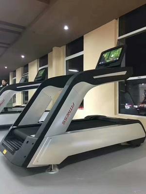 China Auto Commercial Grade Treadmills 1755mm×600mm Running Surface 4HP 5HP 6HP distributor