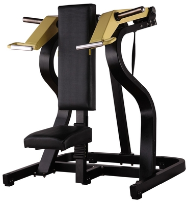 China Seated Shoulder Press Machine , Solid Steel Hammer Strength Gym Equipment distributor