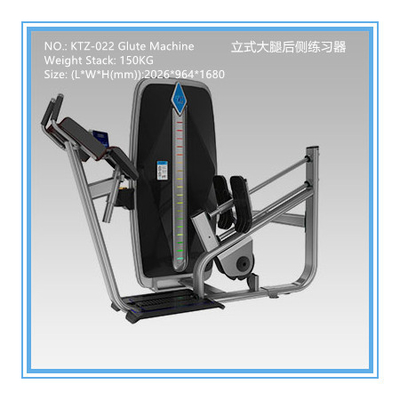 China Indoor Studio Commercial Exercise Equipment Glute Exercise Machine Vertical Type factory
