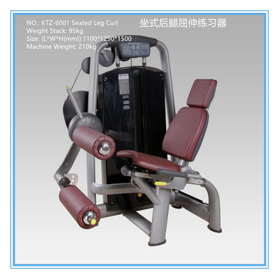 China Professional Aerobic Exercise Equipment Seated Leg Curl Machine A Grade distributor