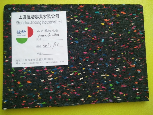 China Anti Shock Acoustic Rubber Matting , Acoustic Carpet Underlay With Aluminum Film distributor