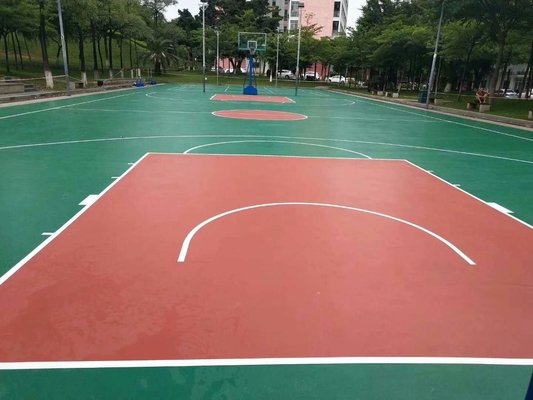 China Water Proof Surface Acrylic Floor Paint For Sports Flooring Non Toxic distributor