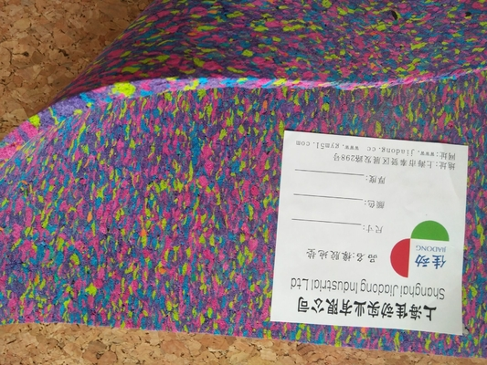 China Customized Rubber Foam Exercise Mats , Recycled Foam Rubber Floor Mats distributor